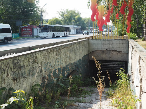 Abandoned pedestrian subway, town MEZ-1, Malakhovka, Moscow oblast