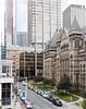 View with my Cappuccino (Lisa-S) Tags: toronto ontario canada indigo fromabove starbucks courthouse throughthewindow oldcityhall 1654