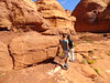 Tear Drop Arch and Hidden Ruin Hike, Monument Valley, Utah (travelourplanet.com) Tags: arizona usa utah arch ruin monumentvalley mesa anasazi teardroparch anasaziruin rockdoormesa hiddenruin