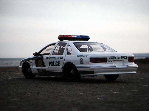 1996 Chevrolet Caprice 9C1 Miami Dade Police Car 1:18 Diecast by UT
