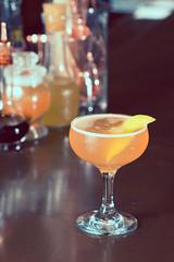 Cocktail at Principle Food & Drink II (Paladin27) Tags: blue downtown cocktail kalamazoo cocktails libations principle principlefooddrink principlefoodanddrink