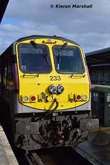 233 at Heuston, 7/10/15 (hurricanemk1c) Tags: dublin irish train gm rail railway trains enterprise railways irishrail 201 generalmotors 233 heuston 2015 emd iarnród éireann iarnródéireann 1700heustoncork