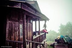 Traditional Monpa Wooden house (Paul Nicodemus) Tags: travel people mountains rain clouds landscapes skies azure adventure journey solo odyssey assam himalayas valleys unplanned tawang natives bomdila tezpur westbengal arunachalpradesh bumlapass selapass paulartography paulnicodemus