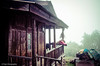 "Traditional Monpa Wooden house (Paul Nicodemus) Tags: travel people mountains rain clouds landscapes skies azure adventure journey solo odyssey assam himalayas valleys unplanned tawang natives bomdila tezpur ""westbengal"" ""arunachalpradesh"" ""bumlapass"" ""selapass"" ""paulartography"" ""paulnicodemus"