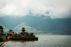 (the.redhead.and.the.wolf) Tags: bali lake mountains architecture clouds indonesia temple cloudy buddhism ulundanu bratanlake