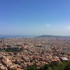 Blick über Barcelona