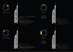 Проект комплекса башен The Bride для Басры от AMBS Architects