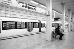Weberwiese Underground (Josmarette) Tags: blackandwhite bw berlin canon underground blackwhite canoneos400ddigital