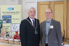 Fairtrade Rutland Christmas Market 2015 Victoria Hall Opened By Rutland County Council Chairman Cllr Bool  and David (@oakhamuk) Tags: by video christmasmarket photographs chairman opened victoriahall 2015 martinbrookes rutlandcountycouncil fairtraderutland cllrbool