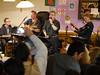 "P1700406 ""Easy Going"" im Café Welcome (tottr) Tags: music germany deutschland concert raw refugee refugees livemusic welcome musik konzert easygoing flüchtling detmold willkommen asb 2015 flüchtlinge livemusik arbeitersamariterbund caféwelcome begegnungscafé begegnungscafe"