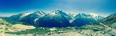The Alps, France (thomasdenat) Tags: panorama mountain alps landscape view mont blanc