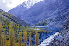 Gupis Lake | Ghizer (Fareed Gujjar - Next Mount Everest April 14) Tags: autumn pakistan lake beautiful scenery north hunza farid fareed ghizer skardu phandar gupis mashabrum faridgujjar fareedgujjar northeran