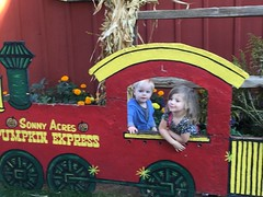 """Paul and Inde in the Sonny Acres Pumpkin Express • <a style=""""font-size:0.8em;"""" href=""""http://www.flickr.com/photos/109120354@N07/23198515256/"""" target=""""_blank"""">View on Flickr</a>"""