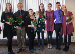 Nurse Pinning Ceremony: December Graduates (Luther College _ Photo Bureau) Tags: december graduation ceremony nurse nursing grads pinning