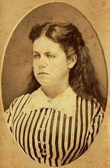 Unknown Woman (~ Lone Wadi Archives ~) Tags: cartedevisite cdv portrait lostphoto foundphoto retro 1870s 19thcentury victorian mysterious unknown