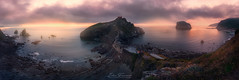Panorámica en San Juan (Iván F.) Tags: sanjuandegaztelugatxe nikon d800e vizcaya bizkaia landscape pano panorama spain travel sea seascape cloud atardecer sundown sunset bakio wave explore exploration explorer