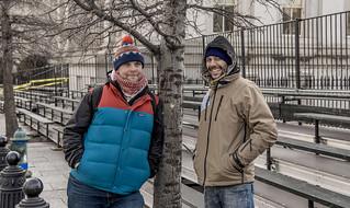 Chris Knestrick and Abe Velazquez