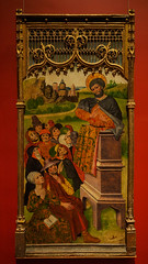 """Saint Preaching"", Jorge Ingles, c. 1475 (Joey Hinton) Tags: olympus omd em1 cincinnati art museum mft m43 microfourthirds 1240mm f28"