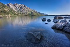 Barely even looked like a little hump (ScorpioOnSUP) Tags: canon grandtetonnationalpark mtstjohn stormpoint symmetryspire wyoming adventure calm lake landscape landscapephotography mountainrange mountains nature noclouds outdoors peaks reflection rocks sky tranquility trees water