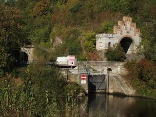Die drei Weilburger Tunnel