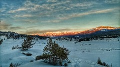 Alpenglow of Cutoff Mountain (TomahawkPunk) Tags: landscape alpenglow cutoffmountain yellowstone publiclands nationalpark montana rockies rockymountains winter winterscape snow snowscape