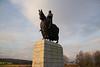 King Robert the Bruce (Leroy Wilson) Tags: scotland robertthebruce robertbruce stirling bannockburn 1314 wallace williamwallace saltire wallacemonument kingrobertthebruce robertthebrucekingofscots standrew bannockburnmemorialcairn bannockburn1314