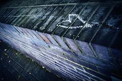 Heart (Dr John2005) Tags: color london england heart chalk brick urban city johnperivolaris street glasgow unitedkingdom