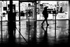 Along the lit store (pascalcolin1) Tags: paris13 nuit night magasin store éclairé lit lumière light reflets reflection homme man photoderue streetview urbanarte noiretblanc blackandwhite photopascalcolin