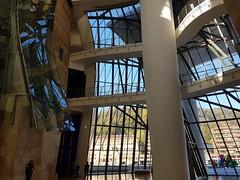 Museo Guggenheim, interior, Bilbao (naotakem) Tags: museoguggenheim bilbao frankgehry