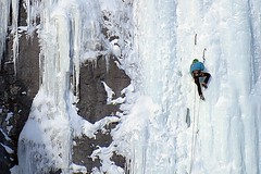 Ice Climbing (5of7) Tags: ice climbing outdoor mountain extreme sport people banff alberta canada canadianrockies iceclimbing banffnationalpark rockymountains fav winter snow cool 4fav