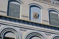 Masonic Building, Washington, IN (Robby Virus) Tags: washington indiana in masonic lodge temple building architect masons freemasons fam architecture historic daviess county museum historical society fraternal