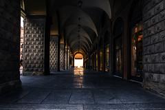 Walking in History (♫♪♭Enricodot ♫♪♭) Tags: enricodot street streetphotographer streetlife bologna ilobsterit history portici