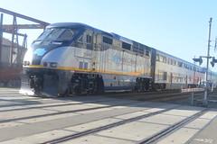 Amtrak CA 2009 B 3-25-16 2 (THE Holy Hand Grenade!) Tags: amtrakca emd f59phi berkeleyca nikond610 nikkor50mmƒ14afd geotagged