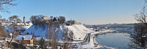 Belarus, Grodno: Stephen Báthory King of Poland Royal Residence panorama