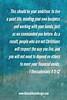 FAVORITE SCRIPTURE (JBruceGibson) Tags: workwithyourhands mindyourownbusiness good advice bible scripture inspiration motivation
