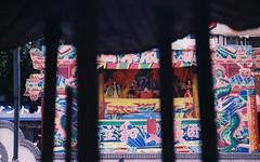 戲 (x666771) Tags: film fm2 台中 布袋戲 廟 taiwan