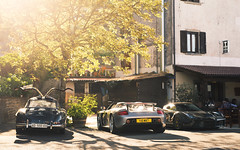 Squad Goals. (Alex Penfold) Tags: ferrari laferrari porsche carrera gt mercedes 300 sl 300sl supercars supercar super car cars autos classic mille miglia 2016 alex penfold