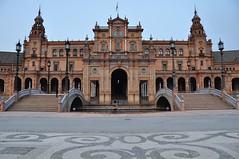 Plaza España (myrocaro) Tags: españa sevilla maríaluisapark