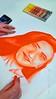 drawing class: self portrait (ggcphoto) Tags: self portrait choc pastels orrange drawing