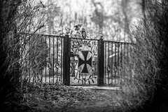 Graveyard bw (LB-fotos) Tags: deutschland friedhof germany graveyard kadettenfriedhof plön prinzeninsel black blackwhite bokeh bw schwarz schwarzweiss sw white wideopen