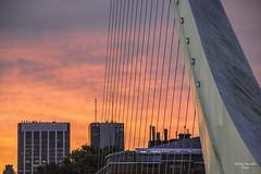Ocaso en el Puente de la Mujer (sacculloruben) Tags: ocasos sunsets sun