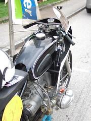 BMW R69S - Racer - 1961 (John Steam) Tags: motorcycle motorbike motorrad oldtimer oldtimertreffen vintage meeting gleichmaessigkeitsfahrt gleichmäsigkeitsfahrt 15 bergpreis trophy nussdorf nusdorf attersee oberösterreich austria bmw r69s racer rennmaschine klinger karl gerold