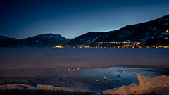 Frozen Lake Zell (chorge1972) Tags: zell am see winter frost fujifilm xt2 1220 wallimex