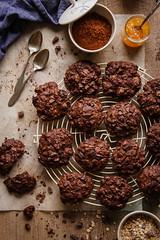 IMG_8958_exp (Helena / Rico sin Azúcar) Tags: chocolate cookie galleta muesli butter mantequilla vanilla vainilla bran oats cereales cacao cocoa dessert food comida postre