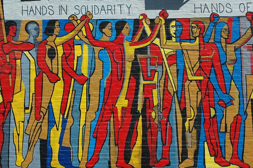 Solidarity Mural by Atelier Teee.