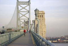 Ben Franklin Bridge Walkway