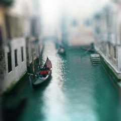 Venice Tilt-Shift (Franie Frou Frou) Tags: venice italy flip tiltshift