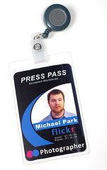 Flickr Badge (themikepark) Tags: flickrbadge badge presspass mookiechan