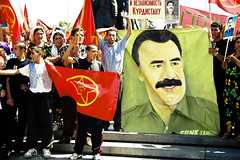 Supporting Ocalan