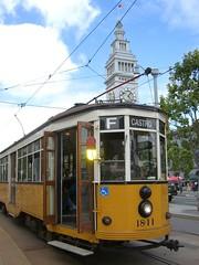 Milano at the Ferry Building (Telstar Logistics) Tags: sanfrancisco milan muni streetcar fmarket 1811